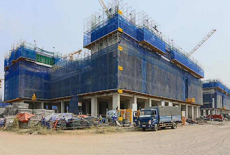 Mặt bằng Căn hộ Q7 SAIGON RIVERSIDE Bán căn hộ Q7 Saigon Riverside tầng thấp, diện tích 66m2 - 2 phòng ngủ, chưa bàn giao