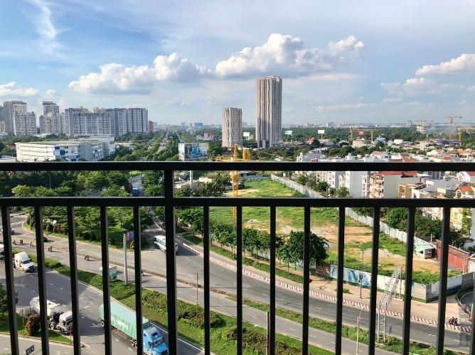 view cảnh căn hộ The Sun Avenue Căn hộ Officetel The Sun Avenue nội thất cơ bản, view thành phố.