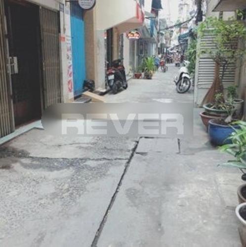 Đường nhà phố Nhà phố hẻm xe máy diện tích đất 3mx11m, hướng Bắc.