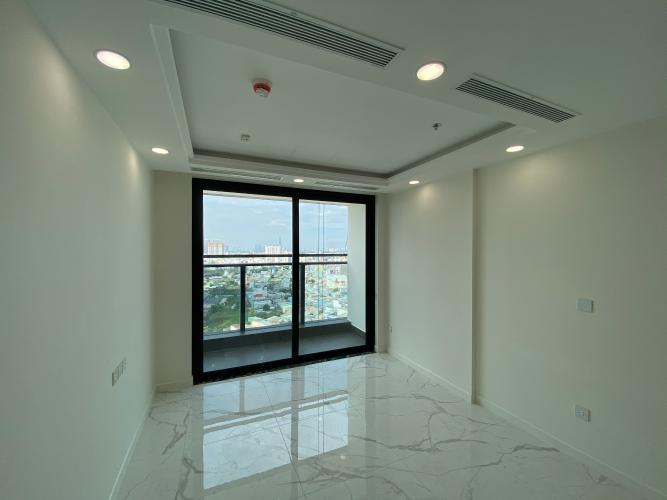 Căn hộ Sunshine City Saigon tầng 7 gồm 2 phòng ngủ, nội thất cơ bản.