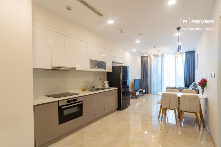 Cho thuê căn hộ Vinhomes Golden River 1PN, tầng 19, đầy đủ nội thất