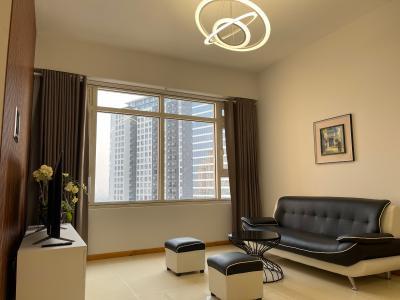 Căn hộ Saigon Pearl tầng cao, đầy đủ nội thất.