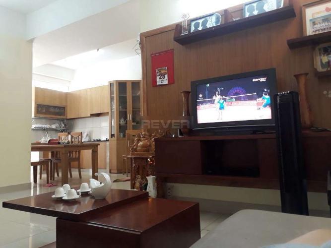 Phòng khách căn hộ chung cư Bình Minh, Quận 9 Căn hộ cao ốc Bình Minh tầng trung nội thất đầy đủ.