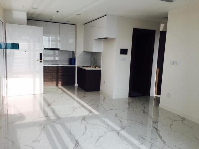 phòng khách Căn hộ Sunshine City Sài Gòn nội thất cơ bản.