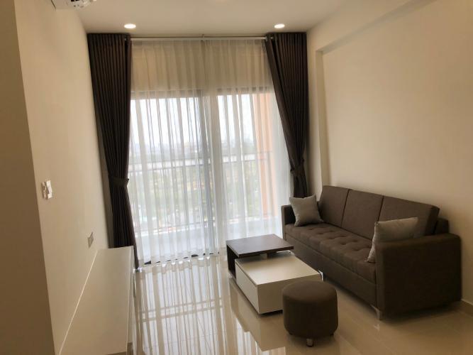Phòng khách căn hộ The Sun Avenue Căn hộ tầng 19 The Sun Avenue, view Landmark 81.