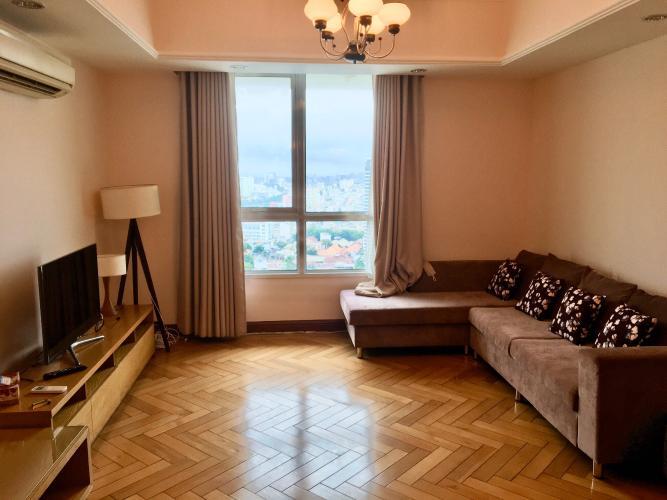 Căn hộ The Manor tầng 26 ban công hướng Đông Bắc view thoáng mát