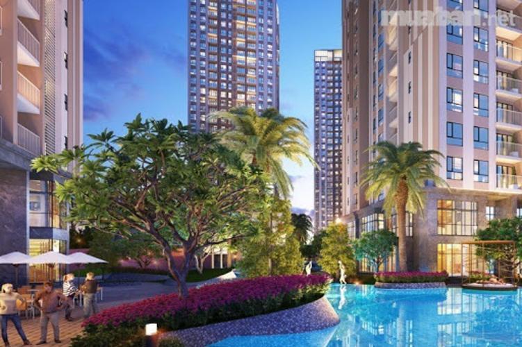 tiện ích căn hộ Sky Garden1 Căn hộ Duplex Sky Garden tầng trung, đầy đủ nội thất tiện nghi.