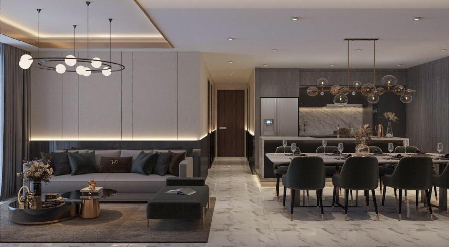 Căn hộ tầng 04 Phú Mỹ Hưng Midtown nội thất đầy đủ hiện đại