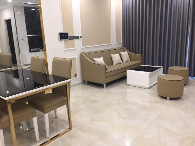 Căn hộ Vinhomes Golden River đầy đủ nội thất, tiện ích cao cấp.