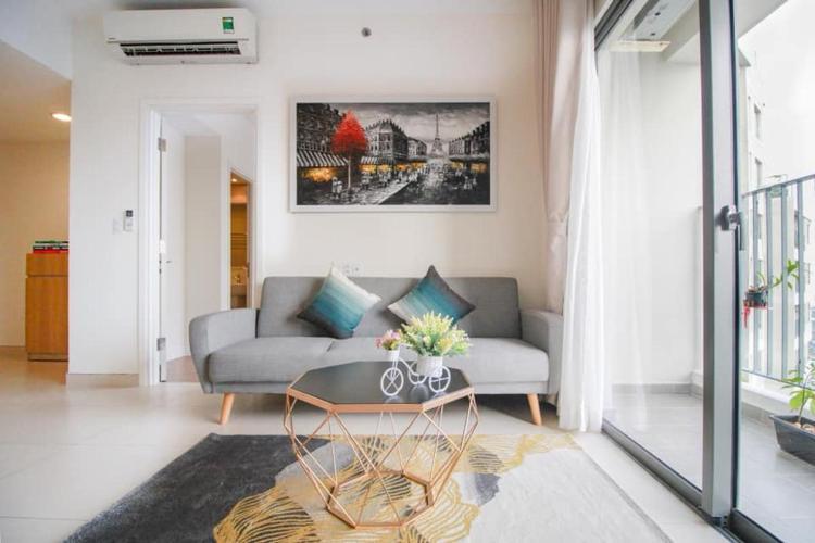 Căn hộ tầng 41 Masteri Thảo Điền đầy đủ nội thất, view thoáng mát.