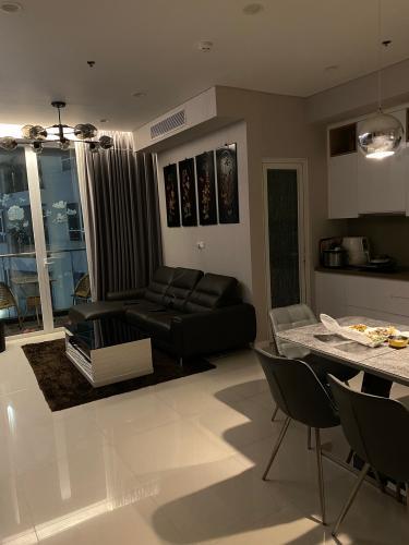 Căn hộ Sarimi Sala Đại Quang Minh đầy đủ nội thất tiện nghi.