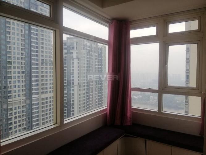 Phòng ngủ Saigon Pearl Quận Bình Thạnh Căn hộ Saigon Pearl tầng cao, view sông Sài Gòn.