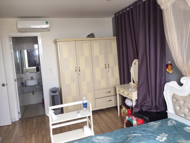 Phòng ngủ City Gate, Quận 8 Căn hộ City Gate view Bình Chánh, nội thất đầy đủ.