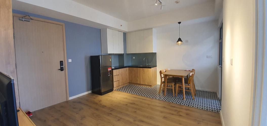 Căn hộ tầng 28 Palm Heights có 3 phòng ngủ, nội thất cơ bản.