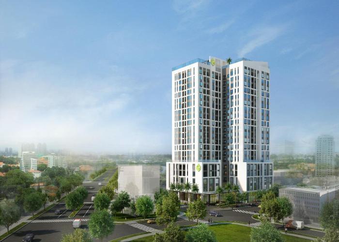 Văn phòng Quận Phú Nhuận Văn phòng diện tích 40m2 hướng Tây Bắc, tại tòa nhà NewTon.