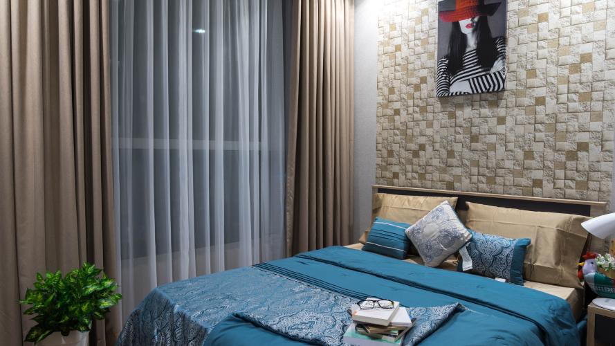 phòng ngủ căn hộ Vinhomes Central Park Căn hộ Vinhomes Central Park tầng 19 nội thất đầy đủ