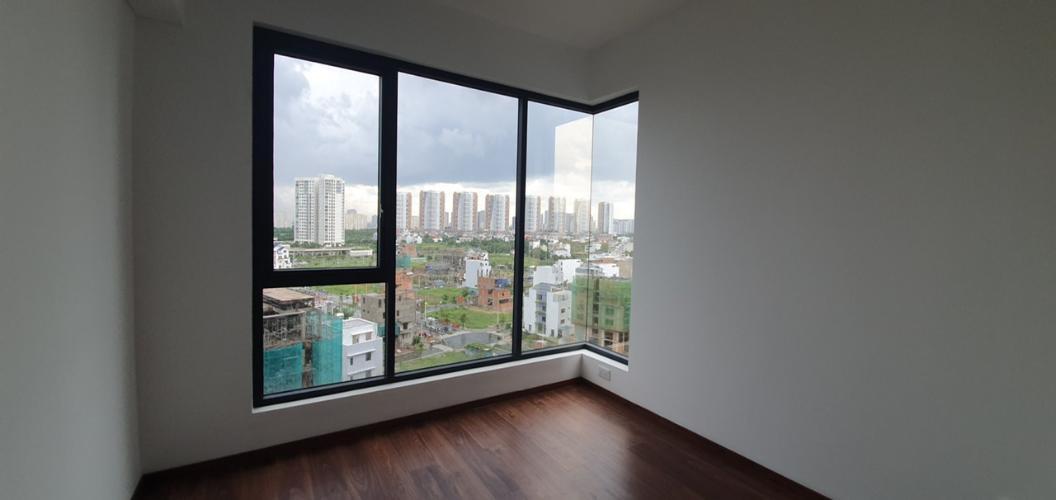 Phòng ngủ căn hộ One Verandah, Quận 2 Căn hộ tầng 9 One Verandah cửa hướng Bắc, view thoáng mát.