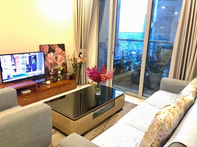 Căn hộ Vinhomes Central Park tầng 15 view thoáng mát, đầy đủ nội thất.