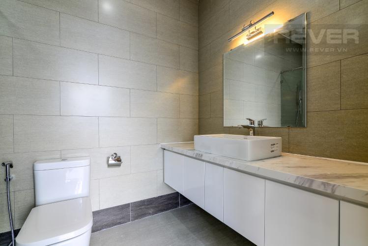 Phòng Tắm 1 Cho thuê office-tel Thủ Thiêm Lakeview 3PN, diện tích 103m2, nở hậu