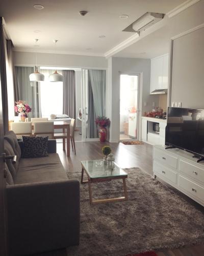 Phòng khách căn hộ Lexington Residence, Quận 2 Căn hộ tầng cao Lexington Residence 2 phòng ngủ, đầy đủ nội thất.