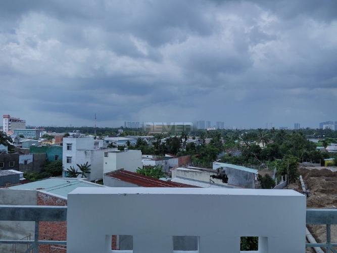 View nhà phố Nhà phố nguyên căn hướng Bắc, đường trước nhà rộng 20m.
