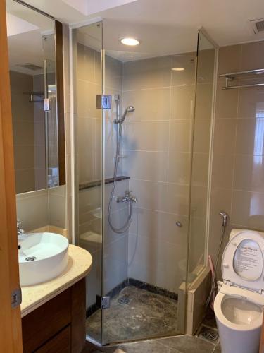 Phòng tắm Căn hộ Saigon Pearl Căn hộ Saigon Pearl nội thất cơ bản, hướng Đông Bắc