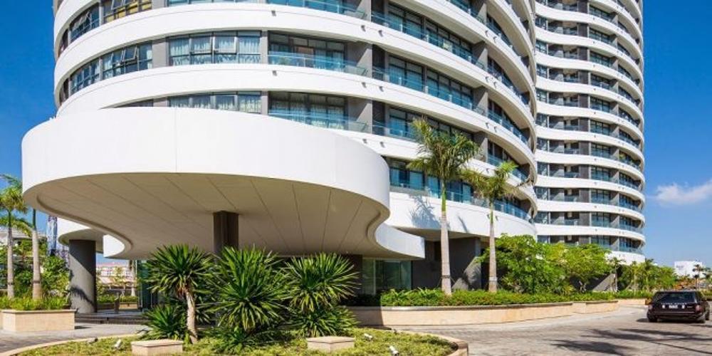 Căn hộ City Garden , Quận Bình Thạnh Căn hộ City Garden tầng 16 nội thất cơ bản, tiện ích đầy đủ.