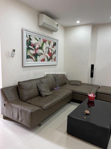 Phòng khách Him Lam Riverside, Quận 7 Căn hộ Him Lam Riverside ban công hướng Nam, đầy đủ nội thất.