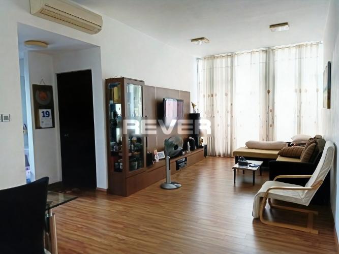 Căn hộ Chung cư Phú Mỹ tầng cao diện tích 90m2, đầy đủ nội thất.