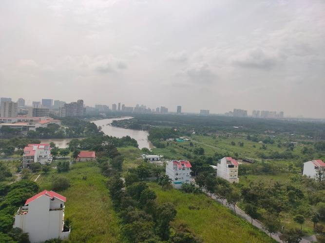 View từ căn hộ Saigon South Residence Bán căn hộ thô Saigon South Residence hướng Đông đón nắng, view sông.