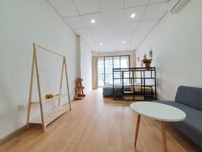Officetel Masteri Millennium đầy đủ nội thất, hướng Tây Bắc.