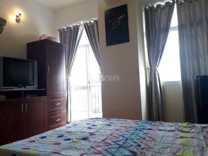 Phòng ngủ căn hộ chung cư Bình Minh, Quận 9 Căn hộ cao ốc Bình Minh tầng trung nội thất đầy đủ.