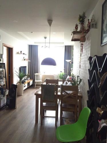 Căn hộ The CBD Premium Home tầng 14, đầy đủ nội thất.