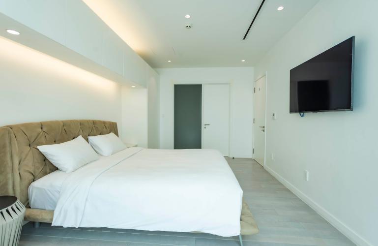 Phòng ngủ , Căn hộ Léman Luxury Apartment , Quận 3 Căn hộ tầng 7 Léman Luxury Apartments view thoáng mát, đầy đủ nội thất.