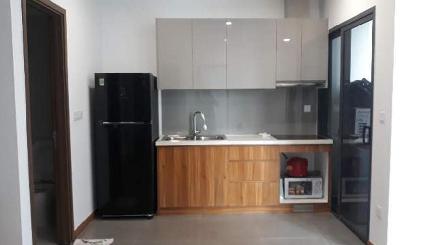 Phòng bếp Eco Green Saigon Căn hộ Eco Green Saigon tầng trung, đầy đủ nội thất.