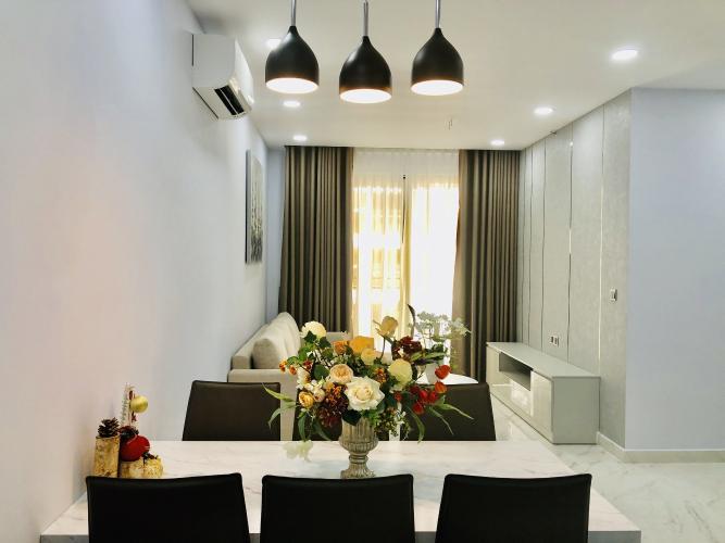 Căn hộ Phú Mỹ Hưng Midtown nội thất cơ bản, tiện ích đầy đủ.