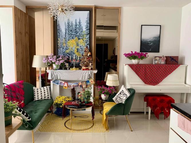 Căn Officetel The Tresor tầng 14 đầy đủ nội thất, tiện ích đầy đủ.