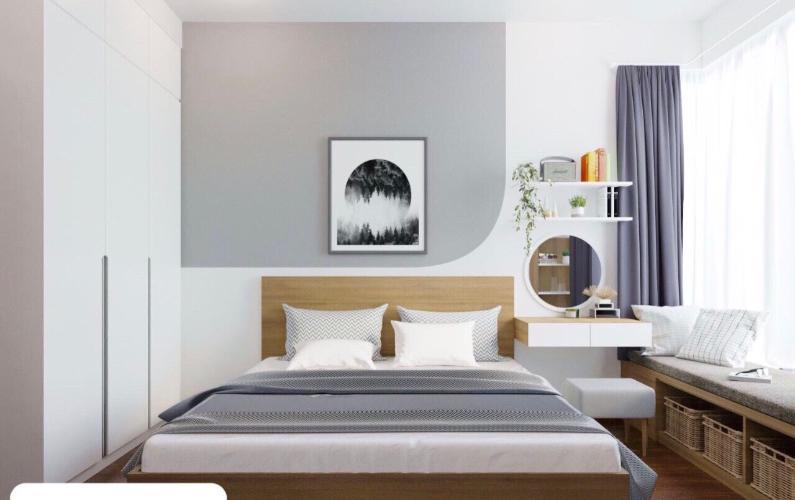 Phòng ngủ One Verandah Quận 2 Căn hộ One Verandah tầng trung, view sông cùng nội thất đầy đủ.