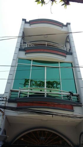 Nhà phố Quận Tân Phú hẻm xe hơi 3m hướng Tây, có sổ hồng riêng.