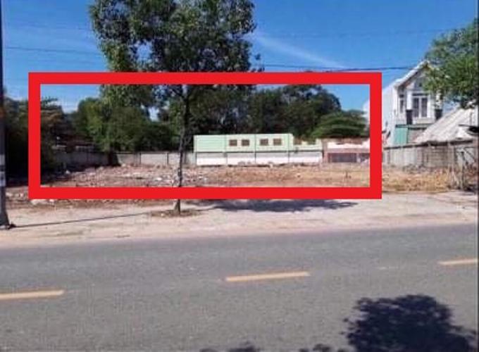 Đất nền có 2 mặt tiền đường Song Hành 1, diện tích 1063m2 có sổ hồng riêng.