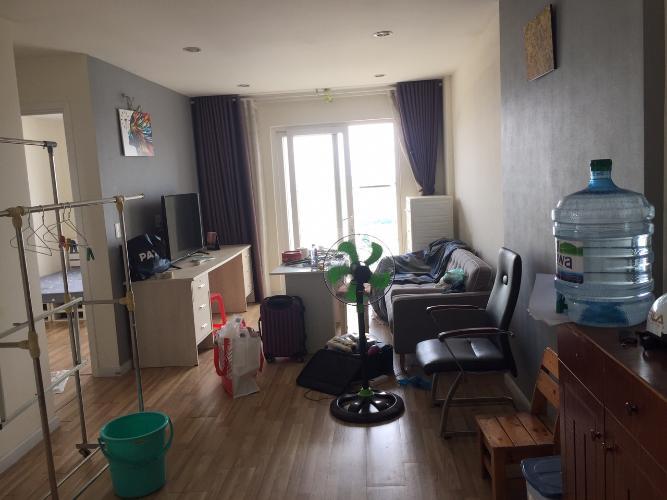 Phòng khách City Gate, Quận 8 Căn hộ City Gate view Bình Chánh, nội thất đầy đủ.