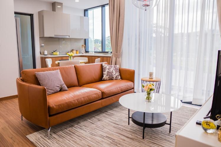 nhà mẫu căn hộ eco green  Căn hộ tầng 06 Eco Green Sài Gòn bàn giao nội thất cơ bản