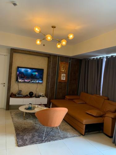 Căn hộ Masteri Thảo Điền tầng 26 kết cấu thông 2 căn, đầy đủ nội thất.