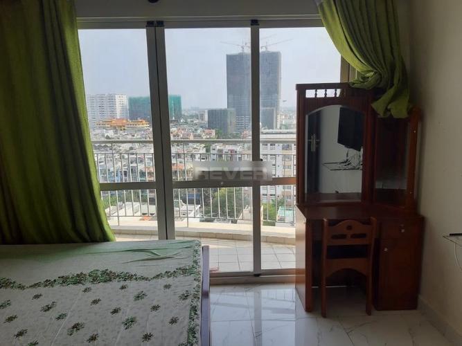 Phòng ngủ căn hộ An Phú Apartment, Quận 6 Căn hộ An Phú Apartment có 2 phòng ngủ đón view thành phố tuyệt đẹp.