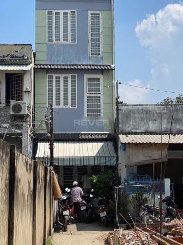 Nhà phố hướng Tây hẻm xe ba gác máy ra vào, khu dân cư an ninh.