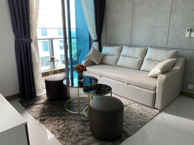 Không gian căn hộ Sunwah Pearl, Bình Thạnh Căn hộ Sunwah Pearl tầng 20 ban công hướng Tây Bắc, đầy đủ nội thất.