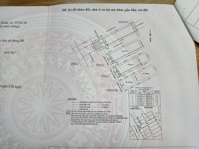 Bản vẽ nhà phố 3 tháng 2, Quận 10 Nhà phố hướng Tây, trong hẻm đường nhựa xe hơi ra vào.