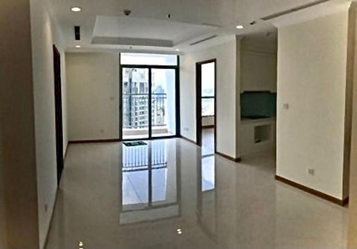 Căn Officetel Vinhomes Central Park tầng 3, nội thất cơ bản.