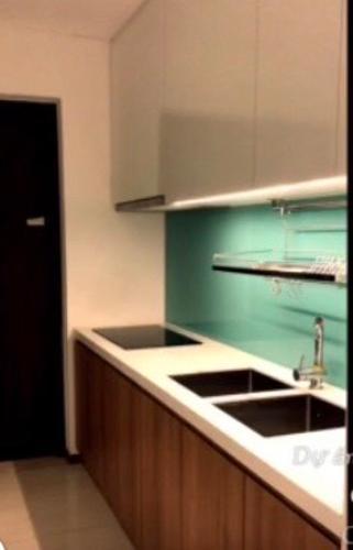 Phòng bếp One Verandah Quận 2 Căn hộ One Verandah tầng trung, bàn giao nội thất đầy đủ.