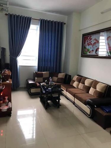 Căn hộ Topaz Home tầng 5 đầy đủ nội thất, view đón gió mát mẻ.